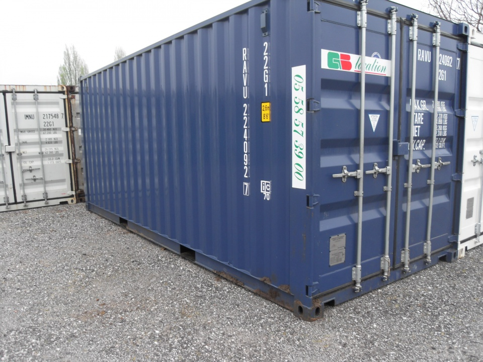 Vente container 30 m3 gblocation for Prix container neuf
