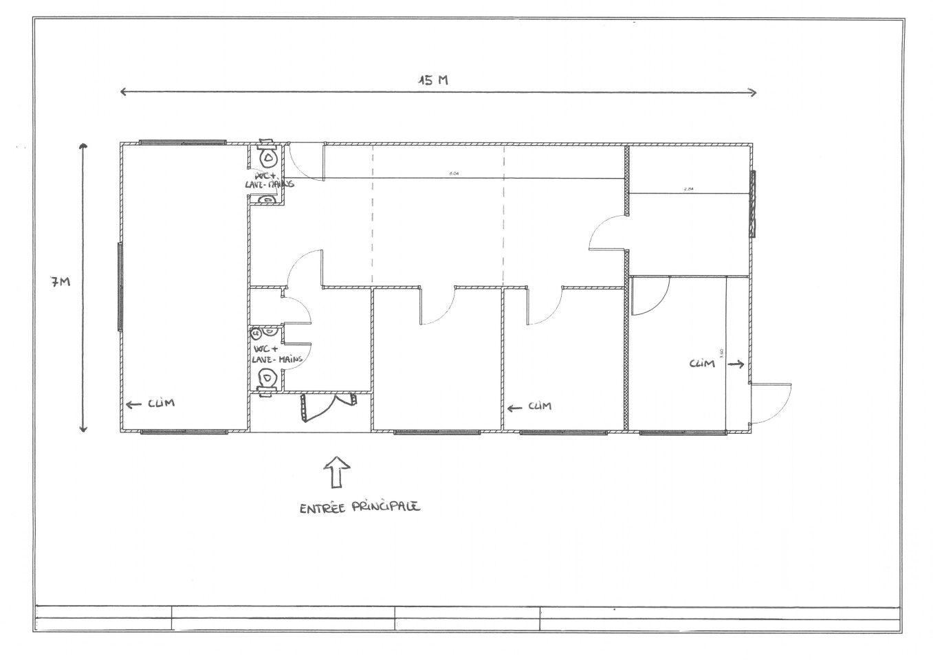 VENTE ENSEMBLE MODULAIRE 105M²